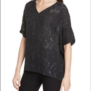 EILEEN FISHER Breezy Silk Top